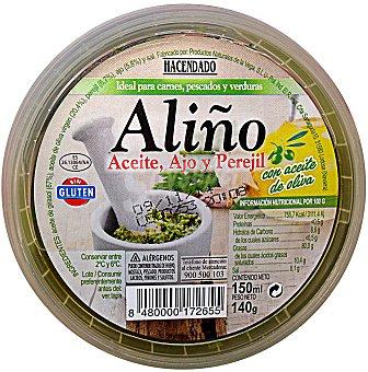 HACENDADO Aliño (aceite de oliva, ajo y perejil) refrigerado Tarrina 150 g