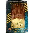 Selección filetes de anchoas y boquerones en aceite de oliva producto artesano bandeja 110 g Bandeja 110 g Cantabrico