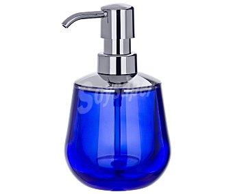 WENKO Dosificador de jabón, gel... color azul serie Mónaco, alta calidad y diseño moderno 1 Unidad