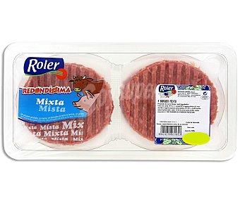 Roler Burger meat mixta 4 unidades 320 gramos
