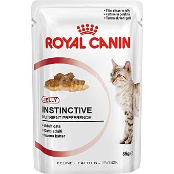 ROYAL CANIN INSTINCTIVE Alimento para gatos adultos con gelatina para mantener la salud del tracto urinario bolsa 85 g Bolsa 85 g