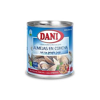 Dani Almejas en concha en su propio jugo Bote 310 g