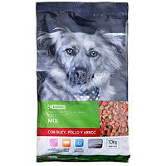 Eroski Friends Mix de buey-pollo-arroz Saco 10 kg