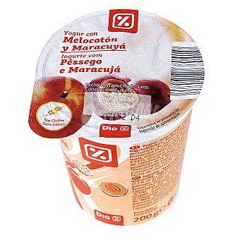 DIA Yogur con melocotón-maracuya Envase 200 g