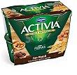 Yogur con muesli, frutos secos y cereales con fibra Pack 4 u x 120 g Activia Danone