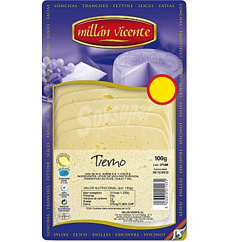 M. Vicente Queso tierno lonchas 100 GRS