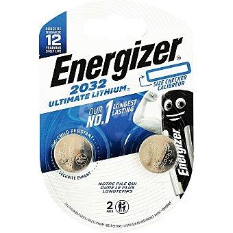 Energizer 2 Pilas Litio Alto Rendimiento CR2032 Energizer