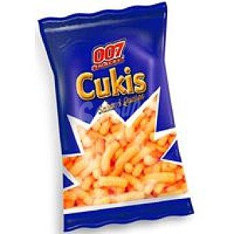 007 Snacks Snack Cukis al queso Bolsa 95 g