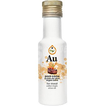 AU aceite de oliva virgen extra aromático para carne  botella 125 ml