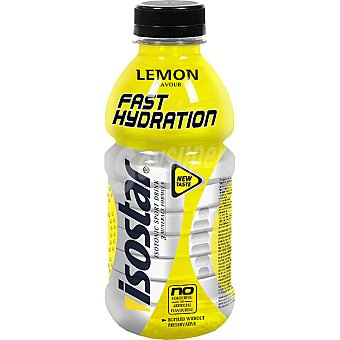 Isostar Bebida isotónica sabor limón Botellín 50 cl