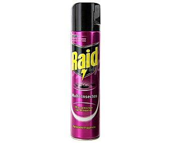 Raid Spra para matar cucarachas, hormigas, arañas, pececillos de plata, chinches, ciempiés y pulgas 400 Mililitros