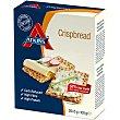 Crispbread cracker crujientes con bajo nivel de cabohidratos y alto en proteinas Envase 100 g Atkins