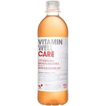 Vitamin well car Agua sabor pomelo rojo Botella 50 cl