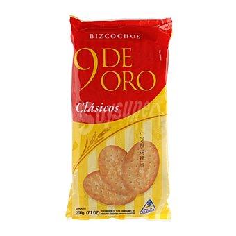 9 De Oro Bizcochitos clasicos 200 g