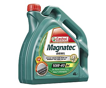 CASTROL Aceite sintético para vehículos diésel 4 Litros