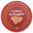Galleta jengibre (forma de corazon) Caja 300 g