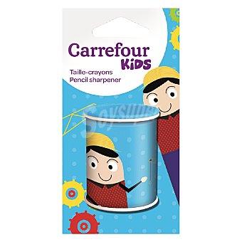 Carrefour Afilalápiz de metal con un orificio 1 ud