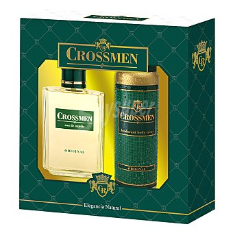 Crossmen Estuche colonia spray 100 ml. + desodorante spray 150 ml. Estuche colonia spray 100 ml. + desodorante spray 150 ml. 1 ud.