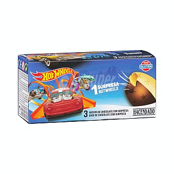 Hacendado Huevo chocolate sorpresa personaje Pack 3 x 20 g