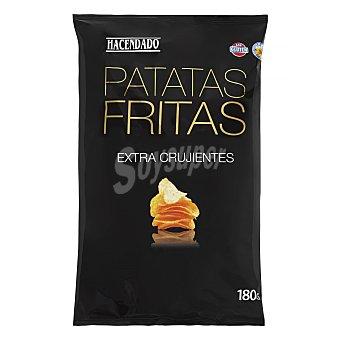 Hacendado Patatas fritas lisas extracrujientes Paquete 180 g