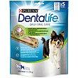 Snack dental para perros de raza mediana 5 uds. 115 g Purina Dentalife