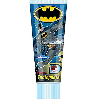 BATMAN Pasta dentífrica infantil sabor chicle tubo 75 ml Tubo 75 ml