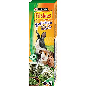 Friskies Purina Sticks de alfalfa para roedores Paquete 27 g