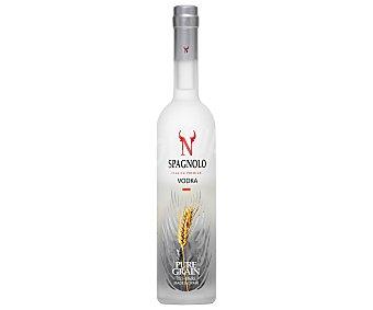 Spagnolo Vodka blanco premium, elaborado en España Botella de 70 cl