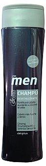 Deliplus Champú cabello revitalizante stylius men Botella 400 cc