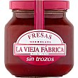 Mermelada de fresa sin trozos Frasco 280 g La Vieja Fábrica