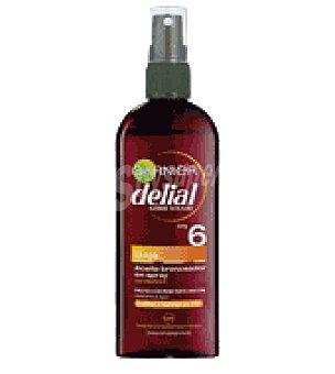 Delial Garnier Aceite solar factor de protección 6 150 ml