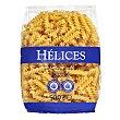 Helices pasta Paquete 500 g Hacendado