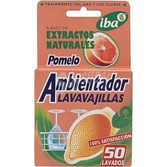Iba Ambientador lavavajillas con extractos de pomelo Paquete 1 unidad