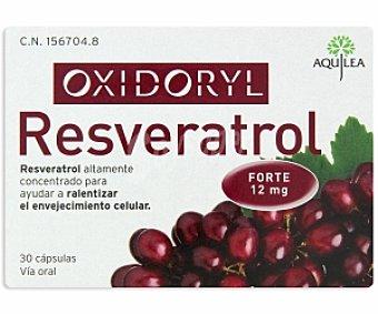 OXYDORIL Resveratrol, relentizador del envejecimiento celular 30 C