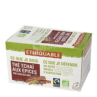Ethiquable Te tchai con especias 20 bolsitas 20 ud