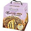 Panettones con chocolate fundido y naranja confitada estuche 750 g Bauli