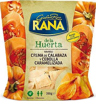 Huerta Ravioli rana crema de calabaza y cebolla caramelizada 250 g