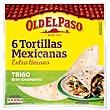 Tortilla trigo  6 ud (244g) Old El Paso