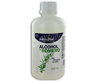 SALUVITAL Alcohol de Romero, Limpia, hidrata y mantiene la piel en buen estado 250 Mililitros