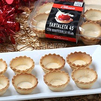 Dillepasa Tartaletas de mantequilla 45 mm envase 16 ud 1 ud