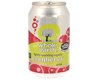 WHOLE EARTH Refresco de arándanos biológico Lata de 33 ml