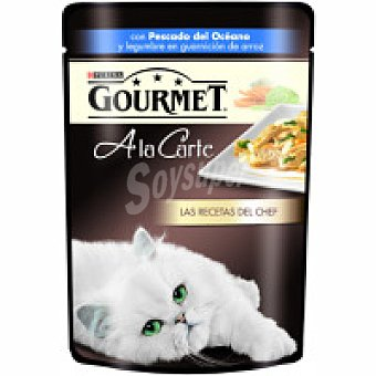 Gourmet Purina Alimento de pescado océano A la carte Paquete 85 g