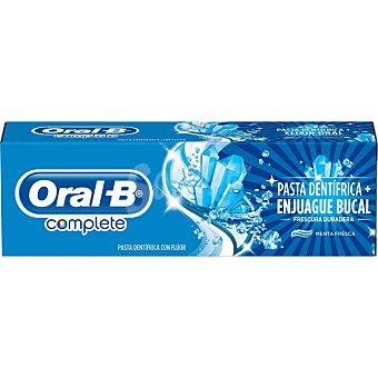 Oral-B Complete pasta de dientes + Enjuague Bucal frescura duradera sabor menta fresca Tubo 75 ml