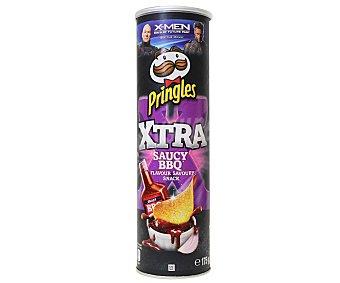 Pringles Snack de patata Xtra Saucy BBQ 175 g