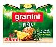 Néctar de piña Pack de 3 uds x 20 cl Granini