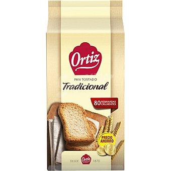 Ortiz pan tradicional tostado a fuego lento 80 rebanadas Paquete 720 g