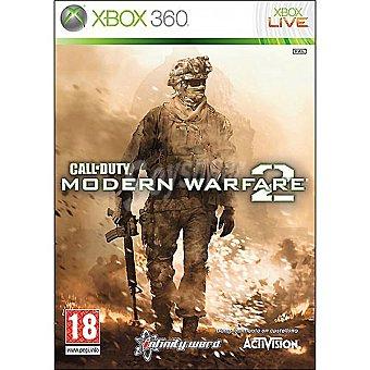 XBOX 360 Videojuego Call of Duty: Modern Warfare 2  1 unidad