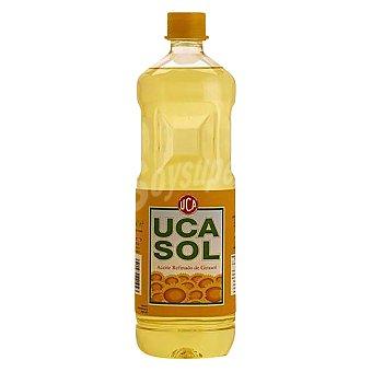 Ucaso Aceite de girasol Botella 1 litro