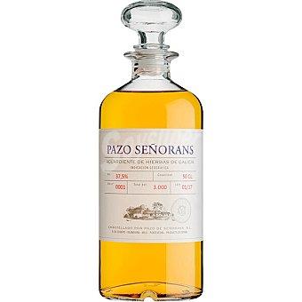 PAZO SEÑORANS Aguardiente de hierbas 100% albariño IGP Orujo de Galicia Botella 50 cl