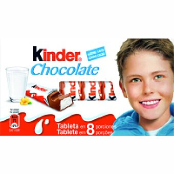 Kinder Chocolate T8 Paquete 302 g